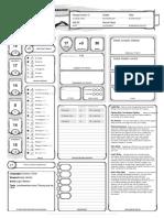 Jean Character Sheet
