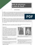 Calculo de Estructuras en Gaudi