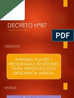 decreto 87