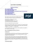 Landuse Planning Parameters