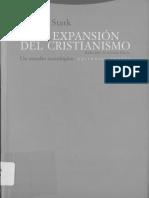 La Expansión Del Cristianismo_Rodney Stark 2