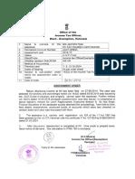 IT Assessment of Jan Mitra Nyas
