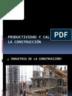 Productividad y Calidad en La Construccion