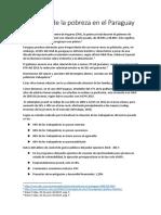 Aumento de La Pobreza en El Paraguay