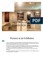 Pictures of Exhibition - Analysis