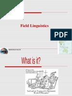 Field linguistics