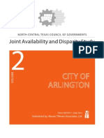 City of Arlington Volume 2 Availability and Disparity Study Final Report 6-16-10