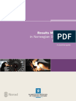 Results Management in Norwegian Development Cooperation