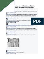 Algun Manual de Diseño de Albañileria Estructural