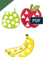 Frutas, Formas y Colores