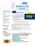 Finding Our Roots Erasmus + project