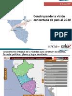 1. Presentación Construyendo La Visión Concertada de País Al 2030 05.01.17
