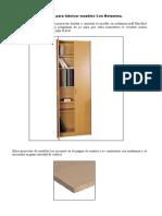 proyectos para fabricar muebles con melamina.doc