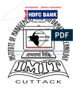 customer awerness about HDF bank