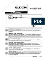 McCULLOCH Trim Mac 250 User Manual