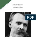 Why Nietzsche
