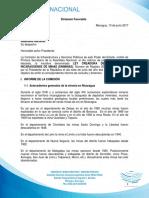 Dictamen de la Ley Creadora de la Empresa Nicaragüense de Minas (ENIMINAS)