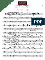 Capriccio Italienne trombone