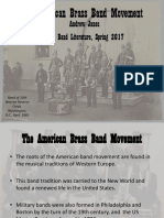 American Brass Band Movement