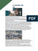 Accidente Nuclear de Fukushima
