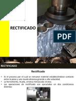Rectificado Procesos de Fabricacion