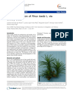 Micropropagation of Pinus Taeda L. via Axillary Buds