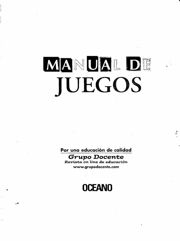 Manual de Juegos_Oceano