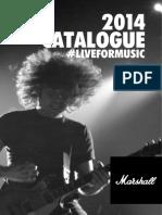 Marshall 2014 Product Catalogue_web