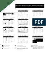 calendarios 2017-2018