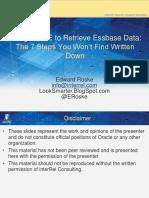 2013-Bi-edward Roske-using Obiee to Retrieve Essbase Data the 7 Steps You Won t Find Written Down-manuskript
