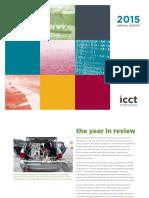 ICCT 2015 Annual Report