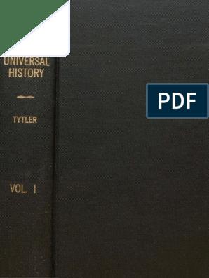 Universal History Vol I Antikkens HellasUro Antikkens Hellas Unrest