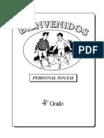 Personal Social  4°grado (marzo - julio)