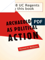 Archeology as Political Action - McGuire