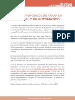 8 Diferencias Manual Automatico