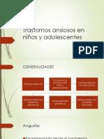 Trastornos Ansiosos en Niños y Adolescentes