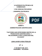 Factores Produccion Ecuador