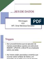 Base de Datos, Triggers FES-A