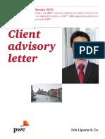 Client Advisory Letter February 2016