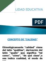 Calidad Educativa Ppt