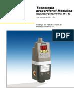Parker Regulador MPT40