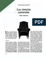 las ciencias camerales.pdf