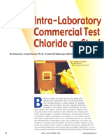 Intra Laboratory Assessment of Commercial Test Kits for Quantifying Chloride on Steel Surfaces
