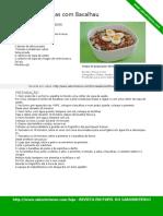 Salada de Lentilhas e Bacalhau SaborIntenso