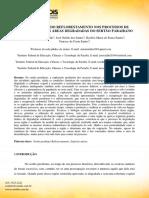 A Importância Do Reflorestamento Nos Processos de Recuperação Das Áreas Degradadas Do Sertão Paraibano