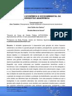 Importância Econômica e Socioambiental Da Biodigestão Anaeróbica