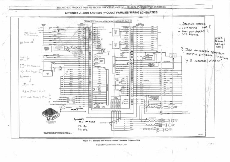 Allison Wiring Diagram   Wiring Diagram on