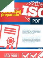 ISO 9001 2015 Esta Usted Preparado