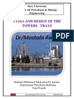 Types & Design of Tower Trays.docx