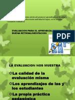 Evaluacion y Retroalimentacion Efectiva
